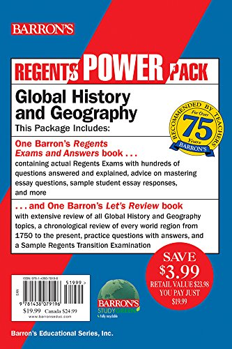 Global History and Geography Power Pack (Regents Power Packs)