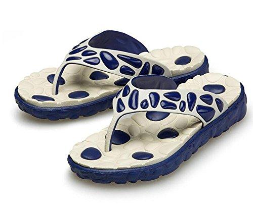 Verano playa personalidad moda marea hombre palabra toalla resbaladizo fresco zapatillas masaje zapatillas de baño 3