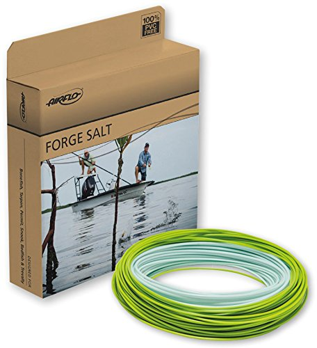 Wf8 Floating (Airflo Forge Salt Fly Line Pale Blue/Mantis Green, WF8)