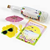 Tropical Invitations I A Bottle