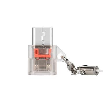 Amazon.com: Adaptador USB tipo C, Mini USB C adaptador tipo ...
