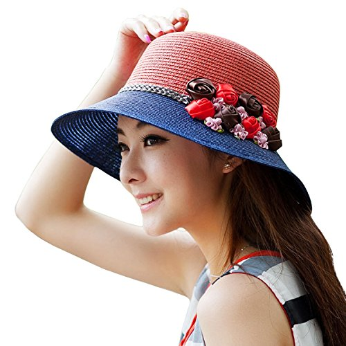 WITERY Women Outdoor Wide Brim Flap Sun Hats Cycling Fishing Full Protection Cotton Hat Cap Headwear Light - Sun Miami And Ski