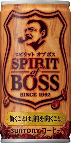 산토리 보스 (BOSS) 스피릿 오브 보스 커피 185g ×30개