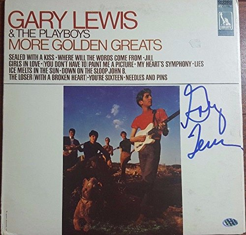 Authenticated Gary Lewis Autographed Album Hand Signed PAAS//COA Pop Rock Music from Unknown