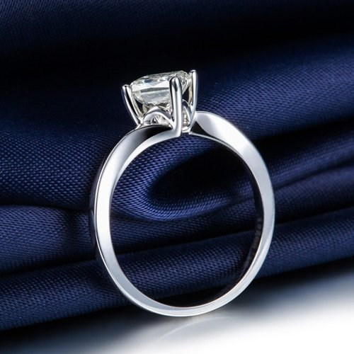 Buy vintage diamond princess cut engagement ring