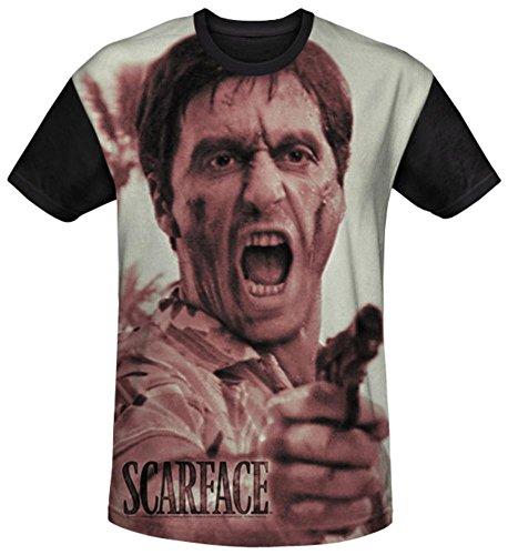Scarface - War Cry Black Back T-Shirt Size L