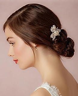 SFGVDSFSDF DHC* Headpieces des Femmes/Accessoires de Cheveux de Mariage/mariée/Headwear/épingle à Cheveux/épingle à Main /, Gold