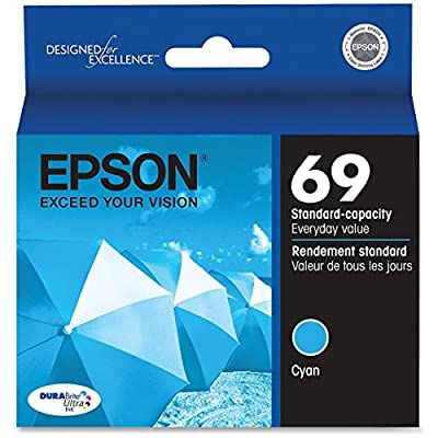 Epson 69 T069220 Cyan OEM Genuine Inkjet/Ink Cartridge - Retail