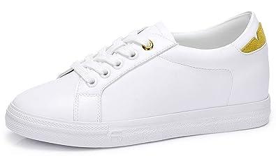 Damen Sneaker Eu36 Low Flach Crown Erhöhenschuhe Für Camel Rutschfest Leicht 40 Casual Weiße Schule Schuhe Top Schnürhalbschuhe kTXuOPZi