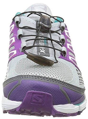Salomon X-Wind Pro Women's Zapatillas Para Correr Violeta / Gris