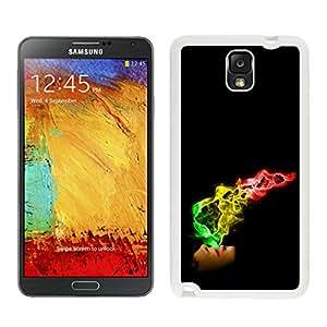YCC(299)R Samsung Galaxy Note 3 White Phone Case 448 Samsung Galaxy Note3 White Phone Case 448