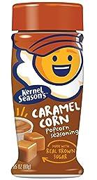 Kernel Season\'s Caramel Seasoning, 3 Ounce Shakers (Pack of 6)