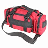 Condor Army Deployment Bag Emergency Utility Shoulder Pack MOLLE Carry Pouch Red by Condor