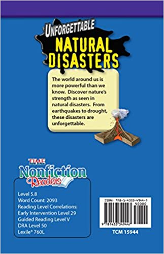 Unforgettable Natural Disasters (TIME FOR KIDS® Nonfiction Readers ...