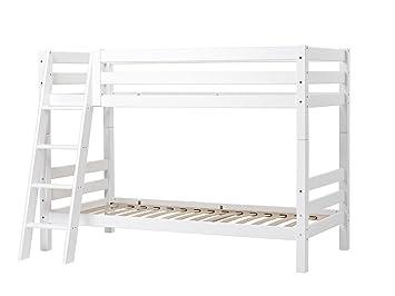Etagenbett Xxl Möbel : Etagenbett mit schräger leiter und rahmenlattenrost hoppekids xxl