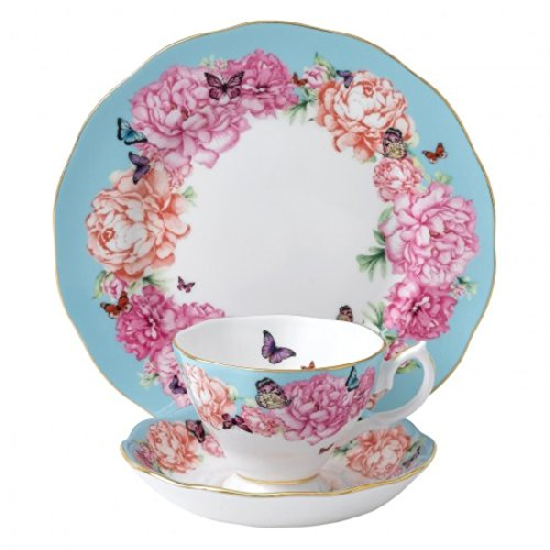 Miranda Kerr For Royal Albert Brand New For 2014 ? 3 Piece Set (Teacup, Saucer and Plate) Devotion - Beautifully Boxed