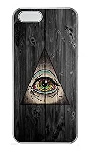 For SamSung Note 3 Phone Case Cover Third Eye Symbol PC Custom For SamSung Note 3 Phone Case Cover Transparent