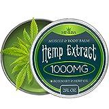 Premium Hemp Balm - Ultra Strong Natural Pain Relief - 1000mg Hemp Extract