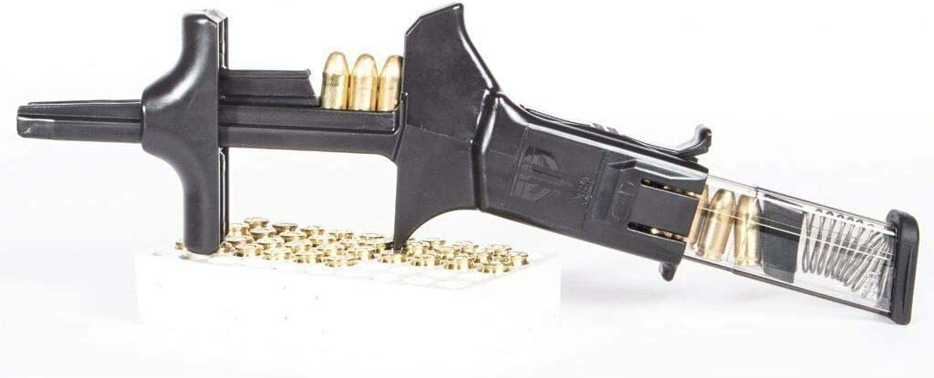 ETS Elite Tactical Systems CAM Universal Speed Loader Magazine Loader for 9MM.40.380 and .45 Calibers Made in The USA