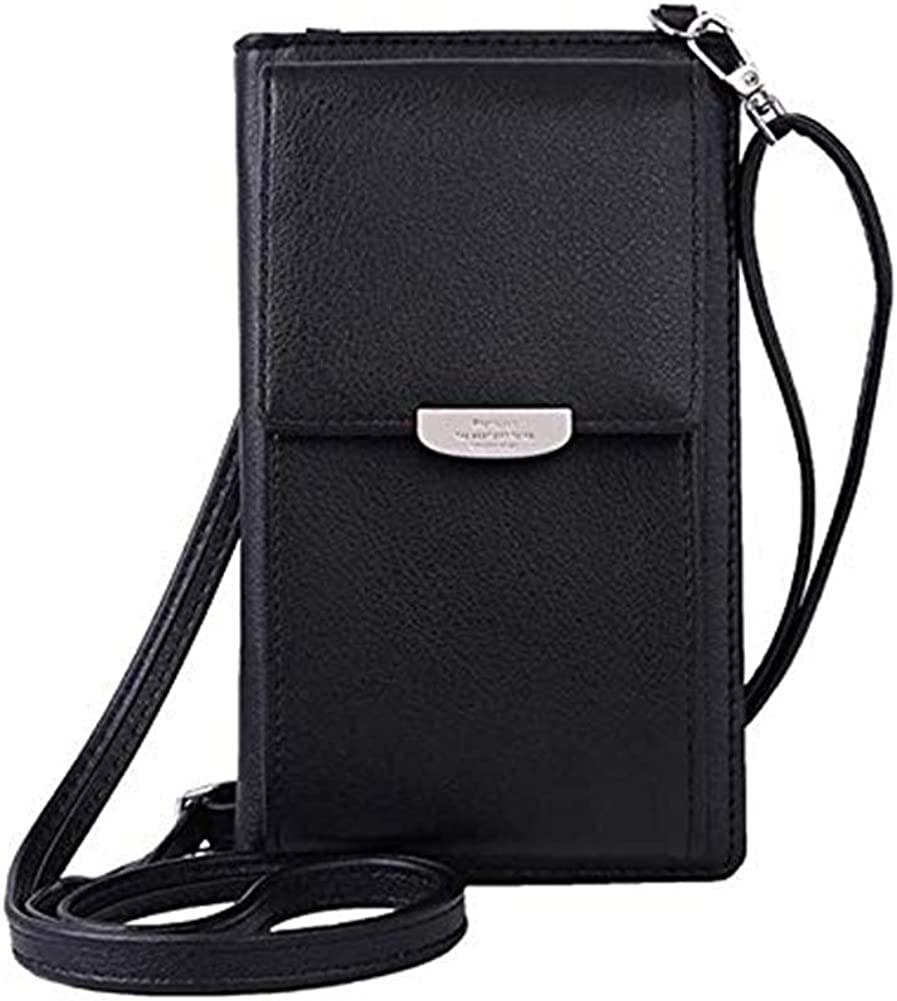 Coffee Small Crossbody Bags Cell Phone Purse Wallet Bags for women by TENXITER