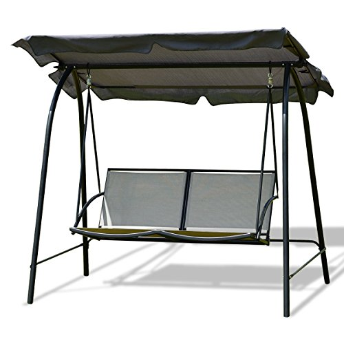 Cheap  Imtinanz Modern Patio Swing Chair with Canopy