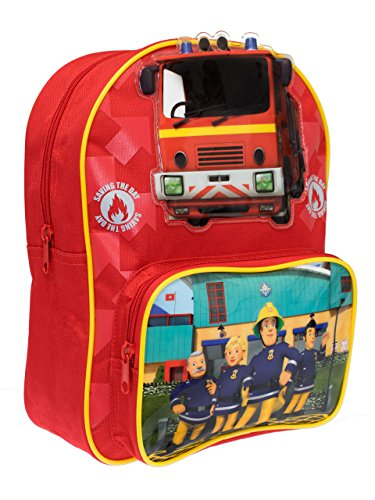 Fireman Lunch - Fireman Sam Boys Fireman Sam Backpack