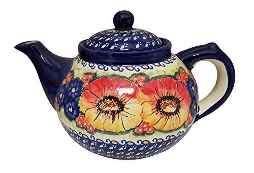Polish Pottery Coffee Pot or Teapot - Eva's Collection