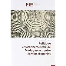 Politique environnementale de Madagascar : entre conflits d'intérêts