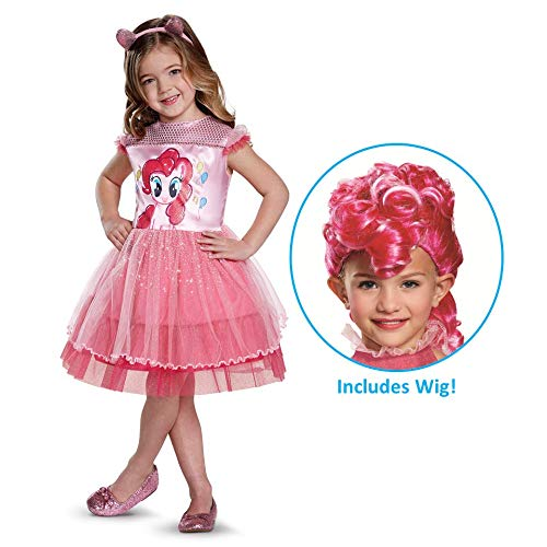 My Little Pony Pinkie Pie Costume with Wig -