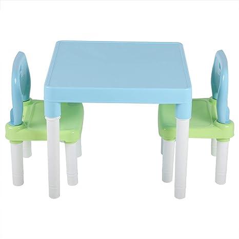 Cocoarm Kindersitzgruppe Kindertisch Mit 2 Stühle Aus Pp