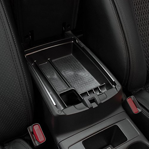 Price comparison product image GreenSun(TM) ABS Central Storage Tray Armrest Container Box Fit for Nissan X trail / Rogue T32 ,  Car Accessories