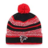 NFL Atlanta Falcons Huset OTS Cuff Knit Cap with Pom, Red, One Size