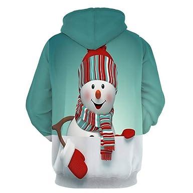 Roiper_ Homme Vetements Jersey de Navidad para Hombre, Sudadera ...
