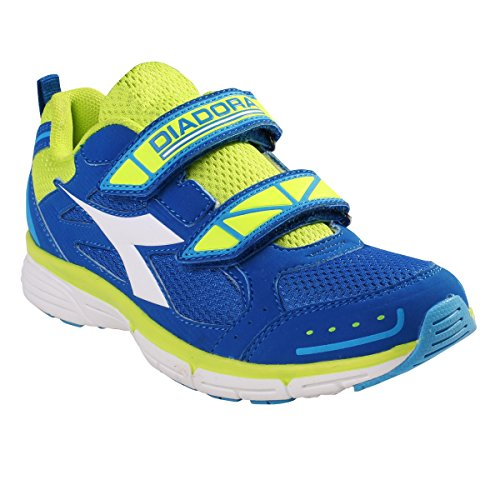 Diadora - Zapatillas de Material Sintético para niño C1970 BLU