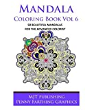 Mandala Coloring Book Vol 6 by Penny Farthing (2014-07-09)