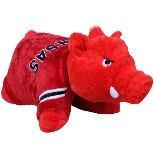 NCAA Arkansas Razorbacks Pillow Pet Arkansas Razorbacks Ncaa Applique