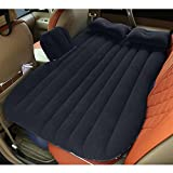 EGI Heavy Duty Universal SUV/Pickup Truck Back Seat Extended Air Bed – Inflatable Travel Mattress