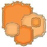 Spellbinders Nestabilities Decorative Elements Dies, Decorative Labels 22