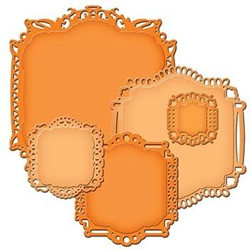 amazon com spellbinders nestabilities decorative elements dies