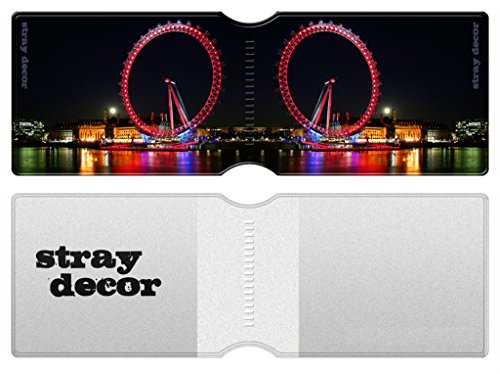 Stray Decor (London) 3x Bus / Train Ticket Wallets, Metro