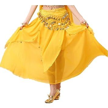 Baile de disfraces para mujeres Falda de danza del vientre Falda ...