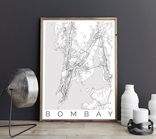 Map of Mumbai, India - Travel Home and Office - Uk Times Fedex Delivery