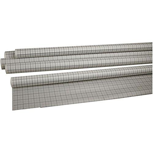 Schnittmusterpapier 20706 von Creativ Company - Seidenpapier als Papierrolle zum Übertragen von Schnitten beim Schneidern. 80 cm Höhe, 15m Länge.