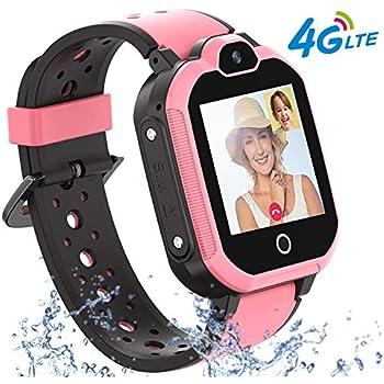 Amazon.com: 【4G GPS Tracker Watch】Kids Smartwatch with ...