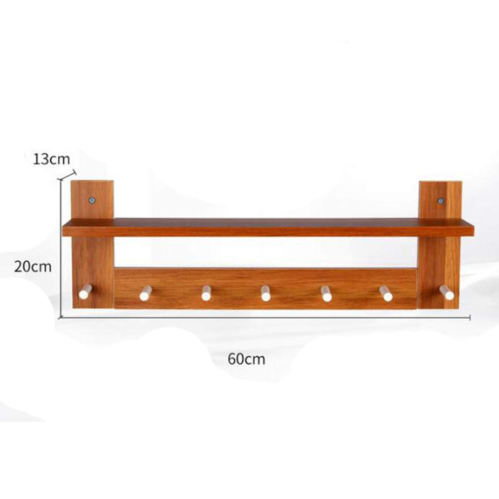 Amazon.com: Wall Mounted Coat Rack The Door Hook Hanger Wall ...