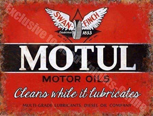 Motul Motor Aceites Cisne-Pinzón Aceite Garaje Vintage ...