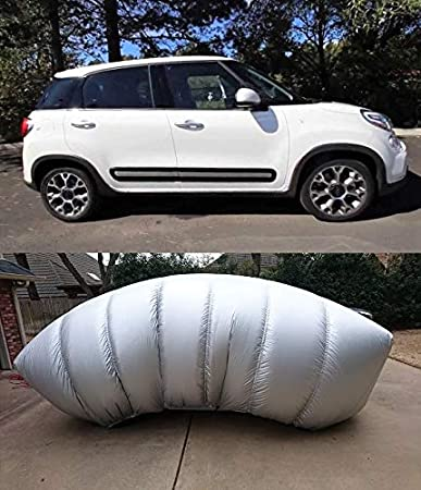 Hail Protector CAR2 Size Portable Car Cover System for Coupes Sedans and Wagons