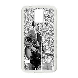 Clzpg DIY SamSung Galaxy S5 I9600 Case - Johnny Cash cell phone case