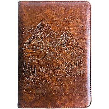 Amazon.com : A5 Soft Black Faux Leather Cover Vintage Retro ...