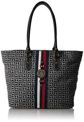 l Tote Bag for Women Jaden, Navy Natural, Black/White ()